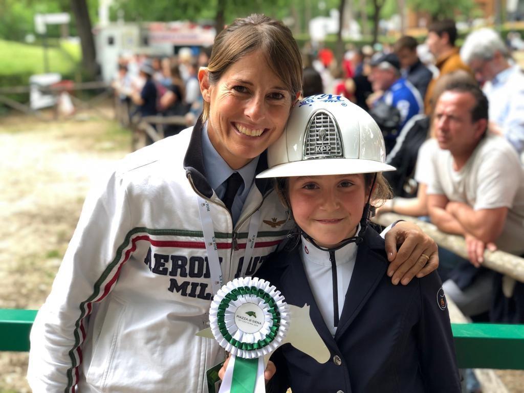 Giulia e Marianna Martinengo Marquet - Piazza di Siena 2019